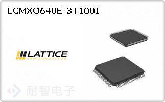 LCMXO640E-3T100I